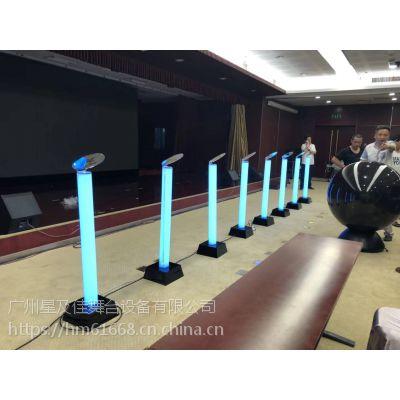 租赁亚克力手印台能量发光柱注水花开道具汇聚水晶球吸幕机
