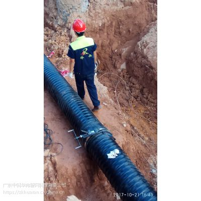 大口径排水管厂家讲解什么是HDPE孔网透水智能管