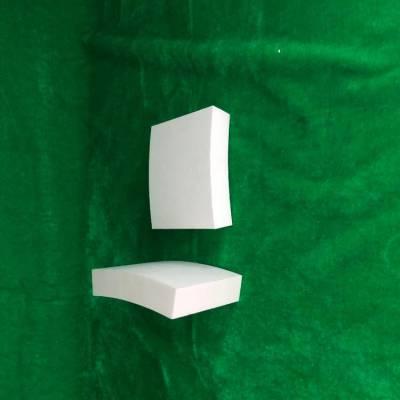 卡扣结构耐磨陶瓷衬板 氧化铝含量92 规格:50*30*5