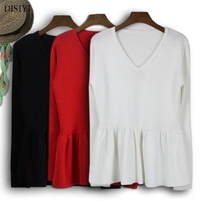 厂家批发2017秋冬韩版女装针织打底衫女毛衣长袖短款修身薄款毛