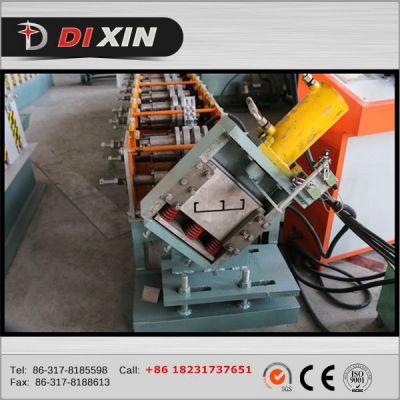 地鑫专业生产 全自动可调式冲孔C型钢设备