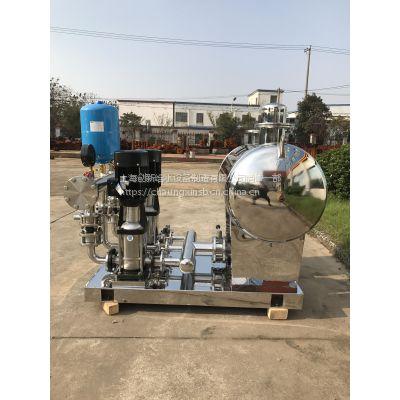 供应创新泵业无负压给水设备 CXWG型变频恒压设备 全自动调速恒压