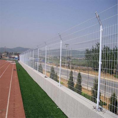 双边丝围墙铁网围栏 安平护栏网厂家 定制小孔桥梁防抛网 隔离栏