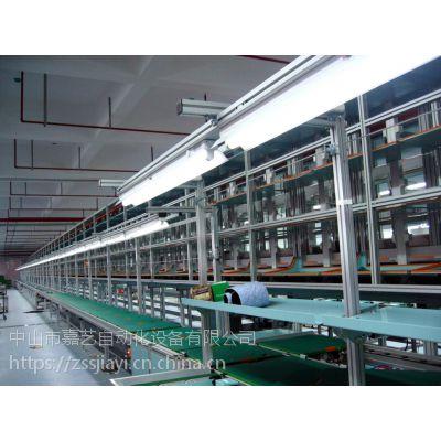 供应山东家电生产组装线,无动力滚筒手推线,链板式组装线