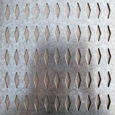 1菱形冲孔网板加工定制304不锈钢镀锌铁铝洞洞板塑料冲孔网供应商筛网过滤网1
