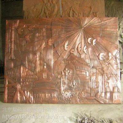 校园清明上河图人物 浮雕 群雕制作 锻铜金属雕塑 广场 城市雕塑