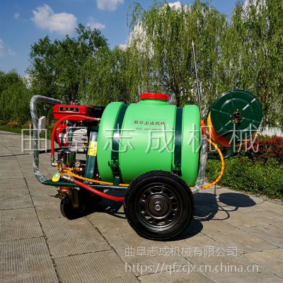 厂家促销汽油杀虫打药机 消毒防疫喷雾机 160升的果园大棚高压杀虫机