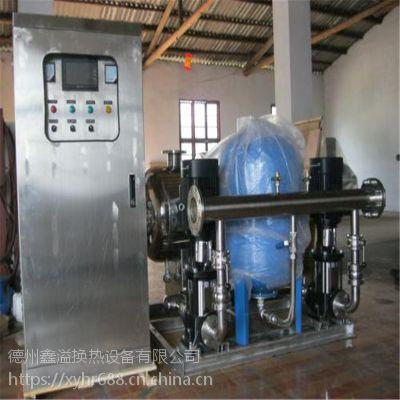 鑫溢 优质变频恒压供水设备 高层专用二次加压供水设备 图纸及设计
