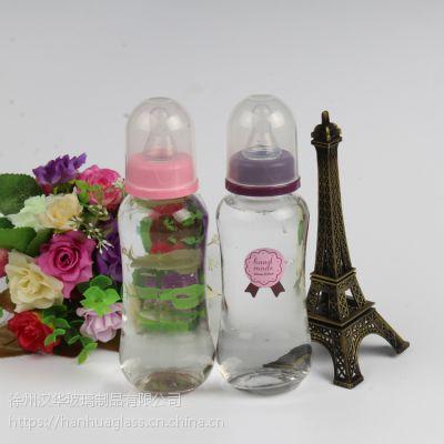 厂家直销280ml玻璃奶瓶,牛奶玻璃瓶生产商,婴儿专用玻璃奶瓶