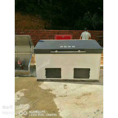 明昌石油设备加工生产中石化标准消防器材箱