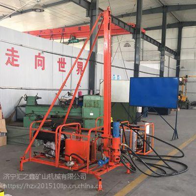 八方供应30m三维物探地震波山地钻机 气动高效山区钻孔作业30米深度勘探钻机