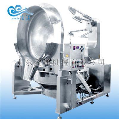 学校食堂自动炒菜机哪里有卖的 炒菜机多少钱一台 自动化炊事设备-山东隆泽