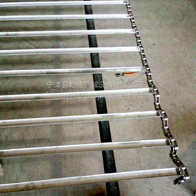 输送机设备网带厂家乾德订制 不锈钢材质寿命有保障