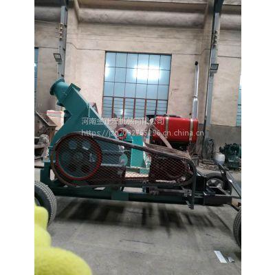 金正宏机械柴油移动树枝粉碎机厂家直销JZH1000