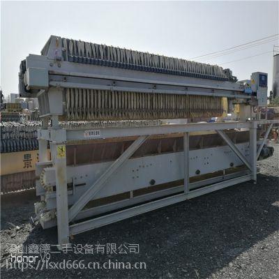 浙江出售二手压滤机二手板框式压滤机价格总结报告