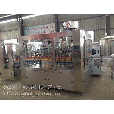 安徽欣升源灌装机三合一灌装机瓶装生产线15856189779