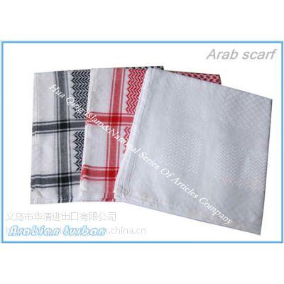 阿拉伯头巾 Arab scarf 阿拉伯4#结提花头巾
