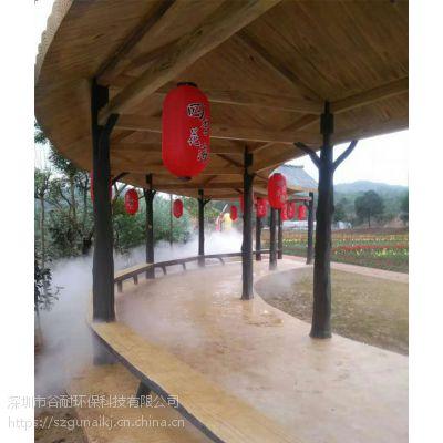 旅游景区景观喷雾系统安装 雨雾降温系统案例 案例(贵港|钦州|百色|河池|来宾|贺州)