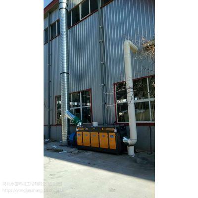 黄石生物制药厂发酵废气净化设备 制药车间臭气异味解决办法