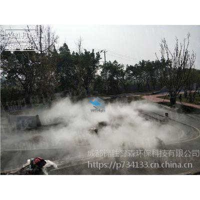 成都景观喷雾机提供【优质人造雾设备设施】锦胜雾森方案设计四川贵州云南重庆景观喷雾公司