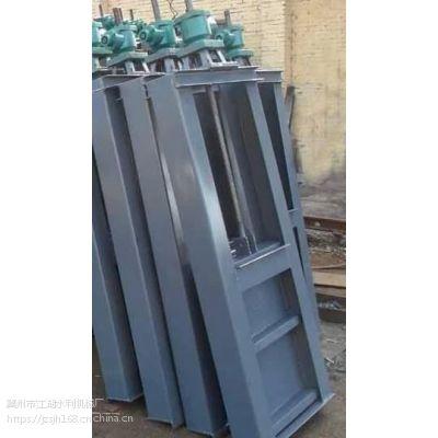 东营启闭机 厂家供应机闸一体式钢制闸门 机闸一体钢闸门 机门一体式钢闸门