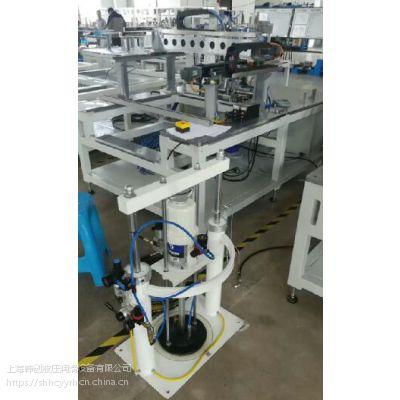 林肯工业自动化定量加注机,固瑞克油脂定量加注机,生产、流水线自动定量加注油脂机