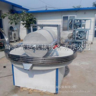 鼎达生产电动石碾保质促销 电动米酱肠粉石磨机