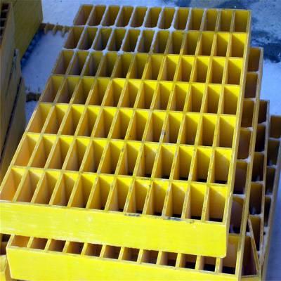 玻璃钢格栅标准 空调防盗网格板 商场下水道沟盖