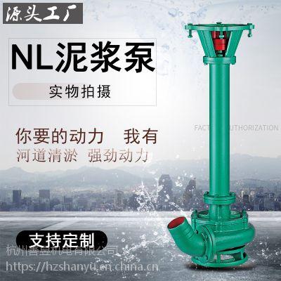 搅拌泥浆泵 液下式泥沙泵 矿山钻井用可定制防爆定制杆长