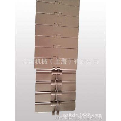 沛哲机械优质生产820-K600塑料POM链板 宽度152.4平顶链板线