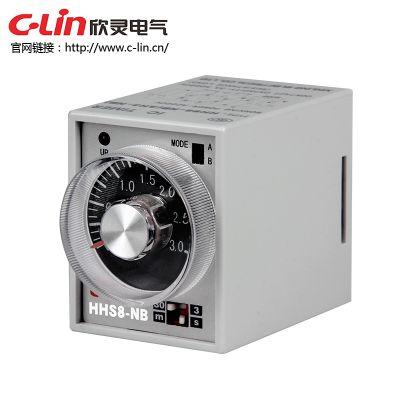 欣灵HHS8-NB(AH3-NB)电子式时间继电器