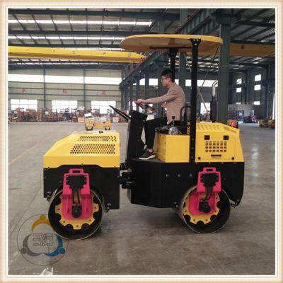 三人行小型压路机 双钢轮压路机精品推荐