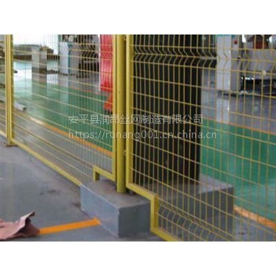 广东专供:车间隔离网、隔离栅栏、临时护栏网、道路临时围栏网润昂定制生产