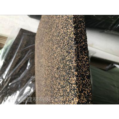 坤耐地面隔音减震胶垫、减震砖坤耐建材