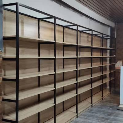 供应东莞市JB货架钢木货架堆头展示柜