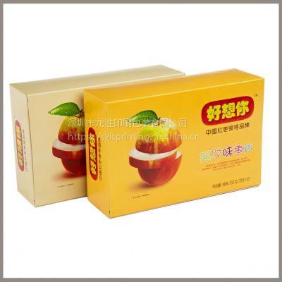 深圳高端彩盒设计定做 燕窝茶叶盒精品单粉卡包装盒设计定制