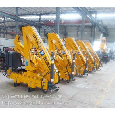 徐州昊意供应小型3吨折臂吊机 工程机械厂家可批量定制