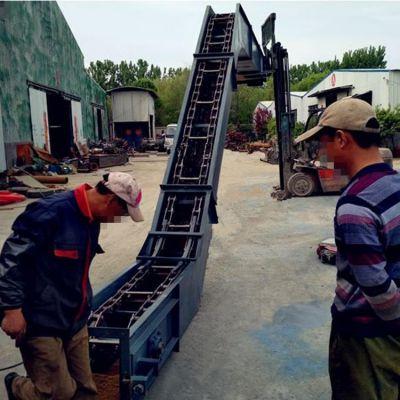 化肥刮板输送机加工价格低 灰粉刮板机