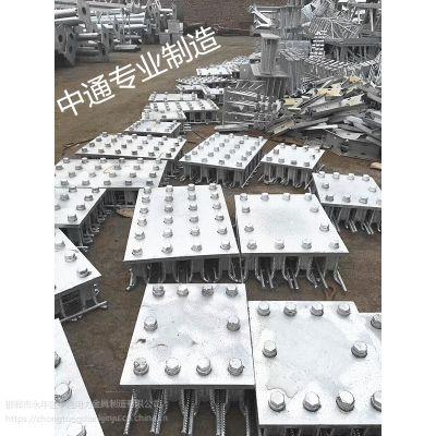 河北防落梁挡块厂家 挡渣钢板 渗锌挡块预埋件 定做各种异型件