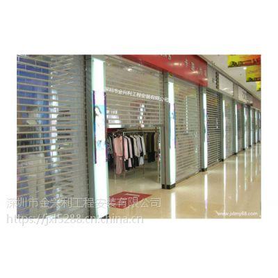 深圳卷闸门、米黄电动卷帘门、免费上门安装维护
