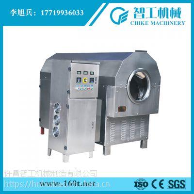 北京许昌智工炒黄豆机低价促销许昌智工电磁炒货机17719936033