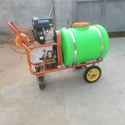 各种型号药桶手推打药机 普航7.5马力的汽油打药机 可以改装柴油喷药