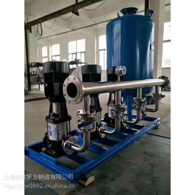 ABD系列单极消防泵XBD3.2/27.8-100L-160变频恒压给水成套设备AB(签)