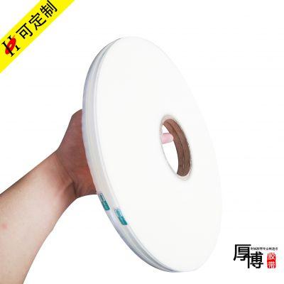 不干胶自粘双面胶带,空白HDPE03封缄胶带,江苏厚博厂家直销