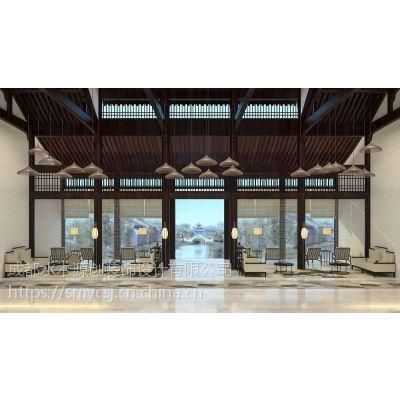 成都酒店软装设计—水木源创设计—家具软装设计