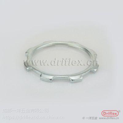 """成都一洋五金生产优质量 接头配套锁紧 铁镀锌锁母,G3/4""""规格"""