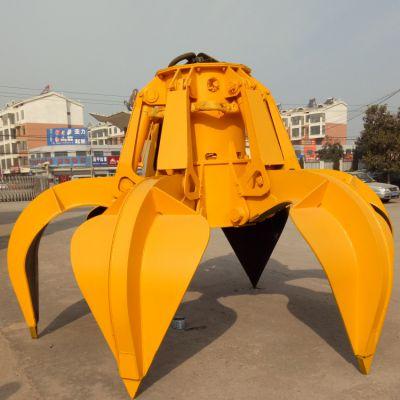 船用散货 废钢 矿石 电气液压机械技术抓斗 亚重 单绳双绳四绳多瓣抓斗