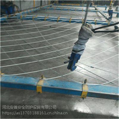 厂家直销钢丝绳边坡防护网@安首自产自销sns柔性防护网