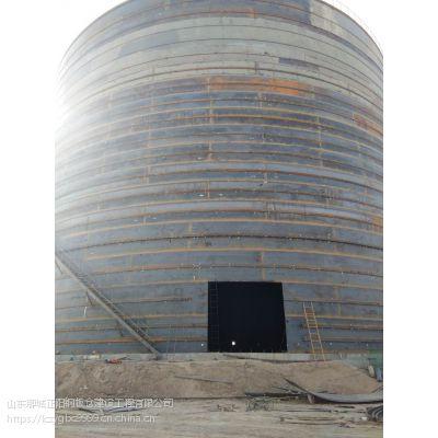 四川大型螺旋卷板仓 粉煤灰钢板仓 焊接钢板仓 石子储存罐