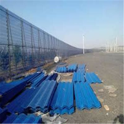 金属防风抑尘网价格 不锈钢冲孔网 洗煤厂防风墙